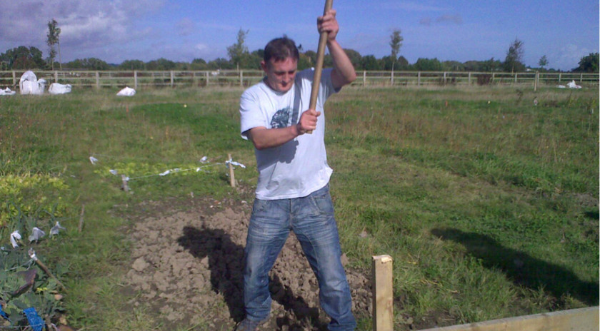 Work on the Allotment